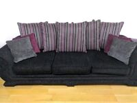 4 seater and 3 seater couch sofa set