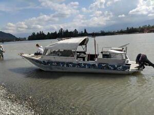 21 ft classic Duckworth jetboat
