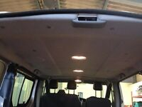 Renault Trafic roof lining