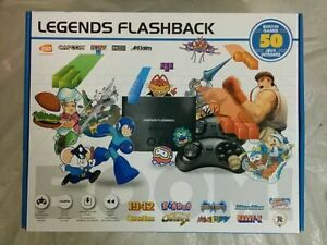 Legends Flashback 50 Built In Games System New Open box