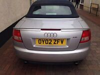 Audi a4 cabriolet v6 2.4 £1750