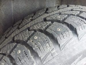 Four Winter i*Pike RS-V tires (studded) - size 215/70R15.