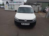 Volkswagen Caddy 1.6 Tdi 75Ps Startline Van DIESEL MANUAL WHITE (2014)