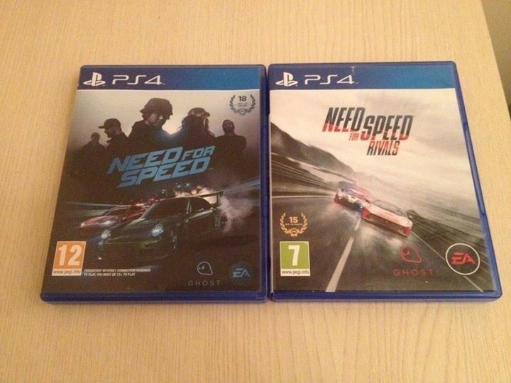 Need For Speed & Rivals PS4