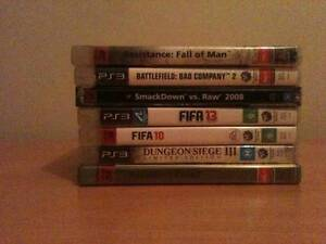 7x PS3 Games Great used Condition Wollongong Wollongong Area Preview