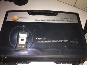 Testo Visual Inspection Scope & Video Brand New