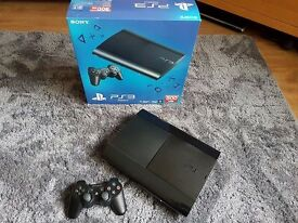 *Sony Playstation 3 (PS3) * *Slimline 500GB * *Includes 5 Games*