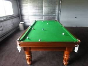 BnK Billiards 3/4 Slate Snooker Table Woorndoo Moyne Area Preview