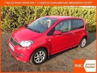 14 Skoda Citigo 1.0 MPI like VW UP GreenTech Elegance GREAT SPEC SAT NAV 57,000