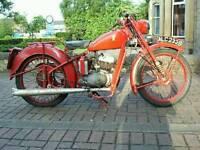 Very rare Bsa bantam 01 1964 gpo bike excellent running order