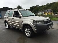 2002 Land Rover Freelander 2.5 4x4 FULLY LOADED ONLY 76,000 MILES