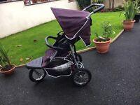 Three wheeler buggy / pram / stroller