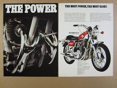 1971 BSA 650 250 350 500 750 Motorcycles lightning star rocket ss vintage Ad