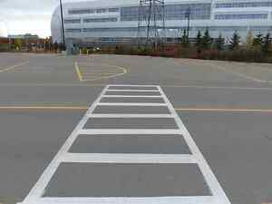 Parking Lot Line Painting - EverLine Coatings and Services