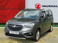 2021 Vauxhall COMBO LIFE 1.2 Turbo Elite Xl MPV 5dr Petrol Auto s/s 7 Seat 130 P
