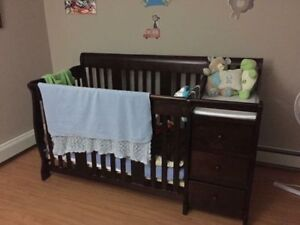 Crib/Change Table/Toddler Bed/Dresser