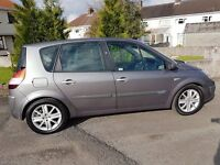 RENAULT MEGANE SCENIC DYNAMIQUE 1.9 DIESEL 120. NEW CLUTCH, NEW CAMBELT, LONG MOT 47MPG MAY PX!!!
