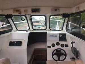 7.2M Custom Aluminium boat Nickol Roebourne Area Preview
