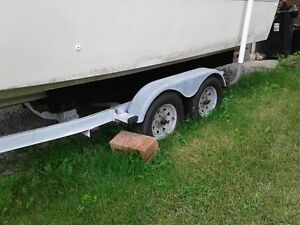 20-25ft EZloader boat trailer