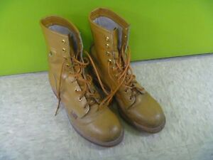 Men's Narrow Steel Toe Work Boots Size 10