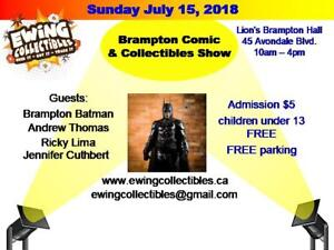 Vendors Needed for Comic and Collectibles Show