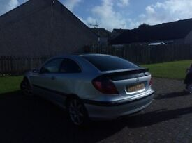 merc c230k coupe 2.3 supercharged swap for project cars mechanically sound