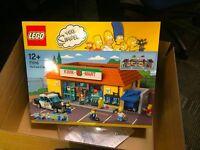 LEGO Kwik-E-Mart (Dismantled into numbered bags)