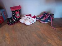 Boys and girls shoes/trainers/boots