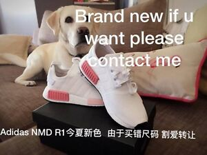 Brand New Adidas NMD R1 BY9952 UK 5 Icy Pink/White Ashgrove Brisbane North West Preview