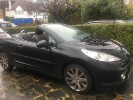 Peugeot 207 Convertible, Great condition with parking sensors