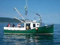 """44' X 14'6"""" Commercial Fishing Boat"""