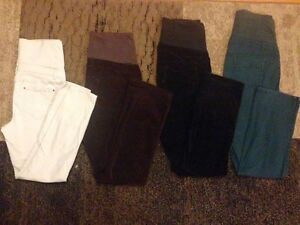 7 Large Thyme Maternity Pants paid $60 each asking $50 for lot