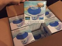 Brand New Sealed Box Of 12 x Flowclear Bestway Lay-Z-Spa Hot Tub Spa Pool Chemical Float