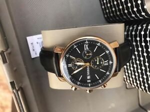 Brand new men's fossil watch, with original box and price tag