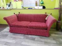 Drop Arm Large 2 Seater Sofa - Can Deliver For £19
