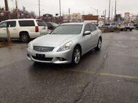 2010 Infiniti G37X  AWD,AUTO,BKUP CAMRA,satety e/t included