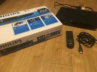 Philips bdp2930 bluray player boxed with remote