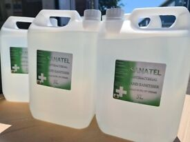 Hand Sanitiser - 5 Litre Jerry Cans - For Dispensers