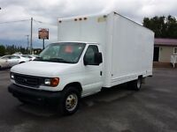 2003 Ford E350 16 FOOT CUBE Diesel