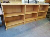 Modern shelving units 30 each