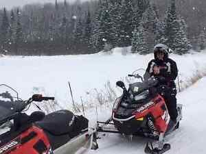 2 2015 Polaris 550 trails and Trailer package