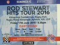 Rod Stewart tickets rugby Park Kilmarnock