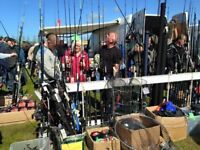 Fishing Tackle and Chandlery at the East Hants Indoor Boat Jumble Sunday 5th November