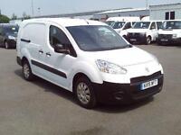 Peugeot Partner L2 716 S 1.6 HDI 90bhp Crew Van DIESEL MANUAL WHITE (2015)