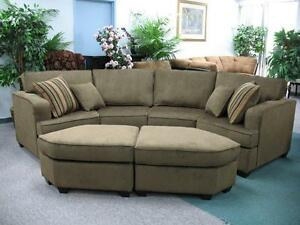 Brand New Sectional with 2 Ottoman