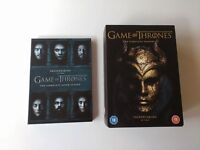 Game Of Thrones DVDs season 1 - 6