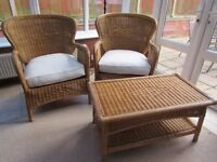 wicker ratton conservatory 4 piece suite - Garden Furniture Kings Lynn