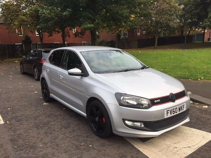 2010 60 vw polo 1 2 tdi bluemotion silver gti looks great 1st car cheap insurance in newcastle. Black Bedroom Furniture Sets. Home Design Ideas