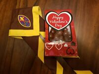 Valentine's Day Chocolate Covered Almonds - $25 Delivered