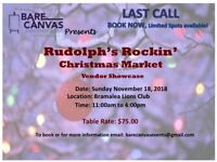 Rudolph's Rockin' Christmas Market - LIMITED SPOTS AVAILABLE